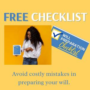 Free Will Preparation Checklist